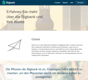 bigbank screenshot